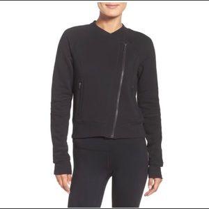 Black Zella Asymmetrical Jacket 1x